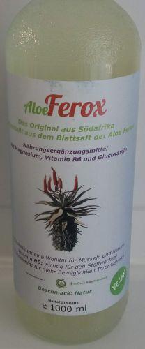 Aloe Ferox Glasflasche 1000 ml