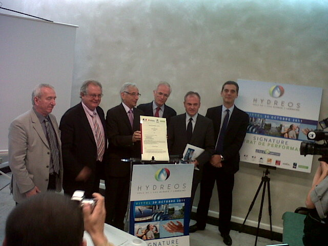 Lancement du Pôle de l'Eau HYDREOS - 2011