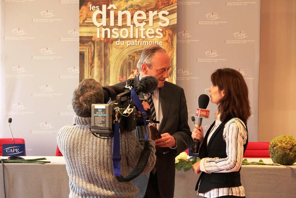 Michel Heinrich - Député Maire d'Epinal et la Web TV Côté Loisirs