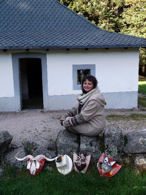 Exposition de Delphine Aubry à l'Ermitage Resort - 2011 - 2012