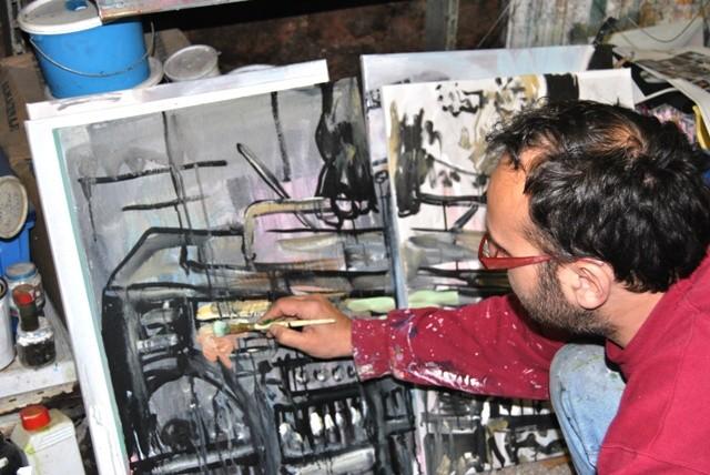 Exposition Fabian Delacote - la Résidence - 2011