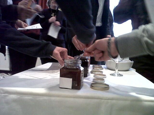 Jeu autour du goût - séminaire à la Résidence - 2011