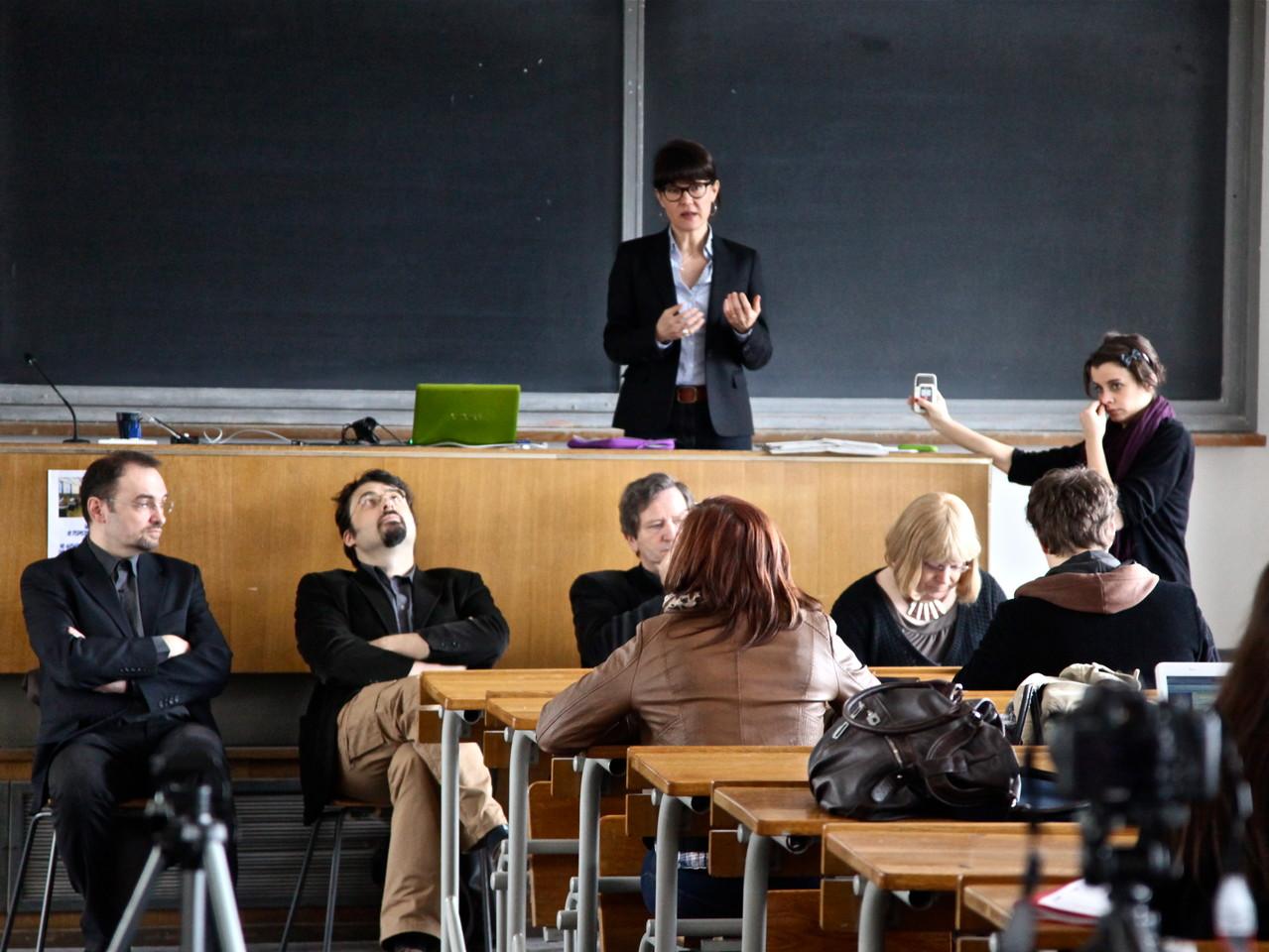 Les Imaginales - conférence à l'Université de Lorraine 2012