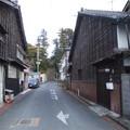 中町通りから三嶋神社を