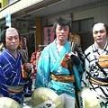 七五郎・石松・仁吉 伊達男三人衆