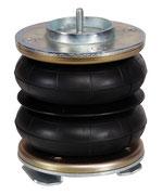 Sospensione pneumatica aggiuntiva Z8 per stabilità e sicurezza su camper e furgoni.