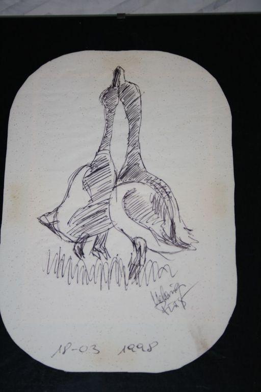 gemalt von Melanie Fürst - Kugelschreiber