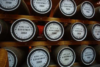 Kavalan Distillery カバラン蒸留所のリフィル樽