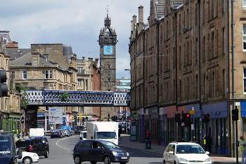 Glasgow グラスゴーの町の画像