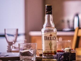 ベルズスコッチウイスキーのボトル