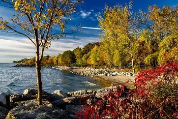 カナダのオンタリオ湖の画像