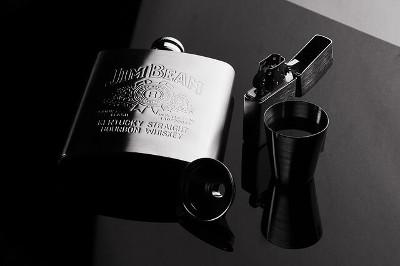 Hip flask ジムビームのスキットル