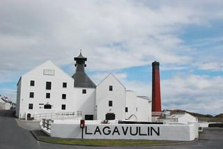 ラガヴーリン蒸溜所の画像