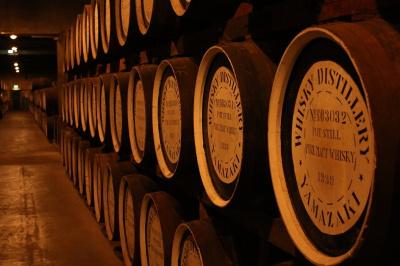 Yamazaki distillery 山崎蒸溜所のウイスキー樽