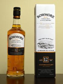 ボウモア12年のボトル画像