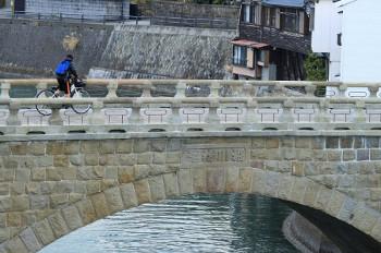 宮崎県日南市油津の堀川橋(乙姫橋)