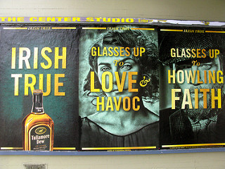 Tullamore Dew タラモアデューの広告