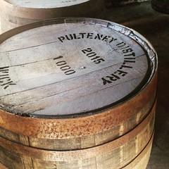 プルトニー蒸留所の樽画像