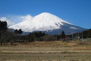 御殿場市から見た富士山の画像