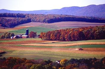pennsylvania ペンシルベニア州の農場