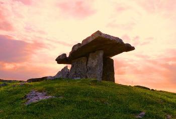 アイルランドの遺跡の画像