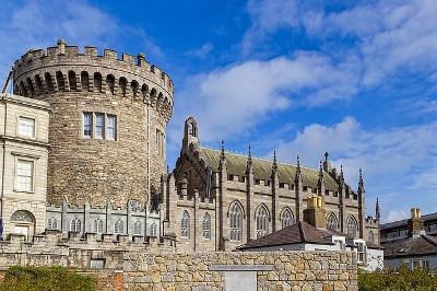 Dublin Castle 18世紀に建てられたアイルランドのダブリン城