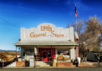 General store カリフォルニア州の雑貨店