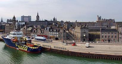 Aberdeen シーバスリーガル発祥の地、スコットランド・アバディーン