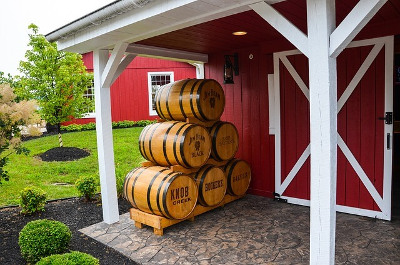 Knob Creek ノブクリークの樽