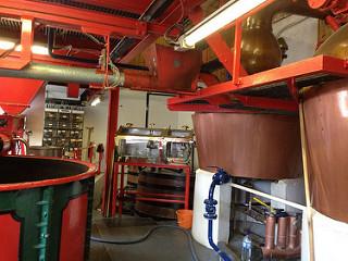 エドラダワー蒸留所のポットスチル