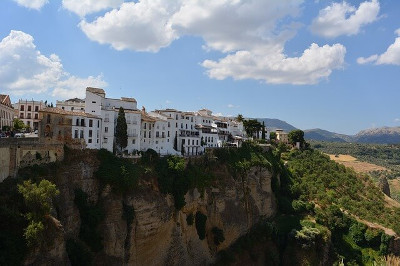 Andalucia スペインの南海岸アンダルシア