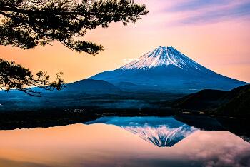 日本の象徴・富士山の画像