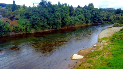 hirosegawa 宮城峡蒸留所のそばを流れる広瀬川