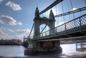 Hammersmith ロンドンのハマースミス橋
