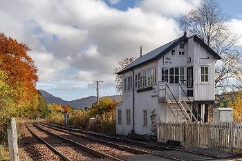 ハイランドの鉄道の画像