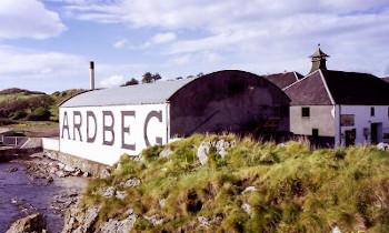 アードベッグ蒸留所の画像