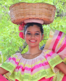 A woman in Nicaragua ニカラグアの女性