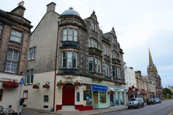 スコットランド・フォレスの街の画像