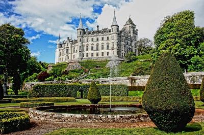 Dunrobin Castle サザーランド公爵邸のダンロビン城