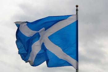 スコットランドの旗の画像
