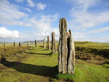 Brogar メインランド島の遺跡リング・オブ・ブロッガー