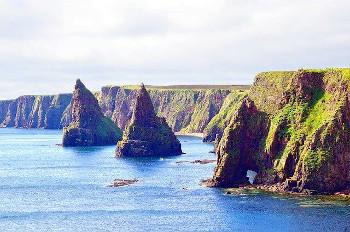スコットランドの海岸の画像