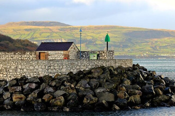 County Antrim 北アイルランド アントリム州の海岸