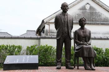 竹鶴政孝氏と妻リタさん
