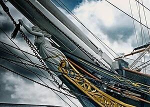 カティサーク号の画像