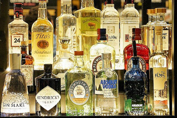 ジンのボトル画像
