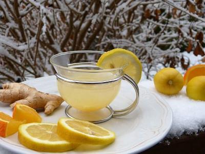 hot lemon ginger ホットレモンジンジャー