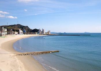 愛知県南知多町の内海海岸の画像