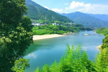 徳島県吉野川の画像