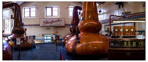 Glenfarclas Distillery グレンファークラス蒸溜所